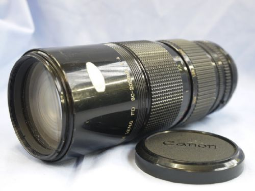 Lens 200mm Canon Canon fd 80-200mm f4 Zoom Lens